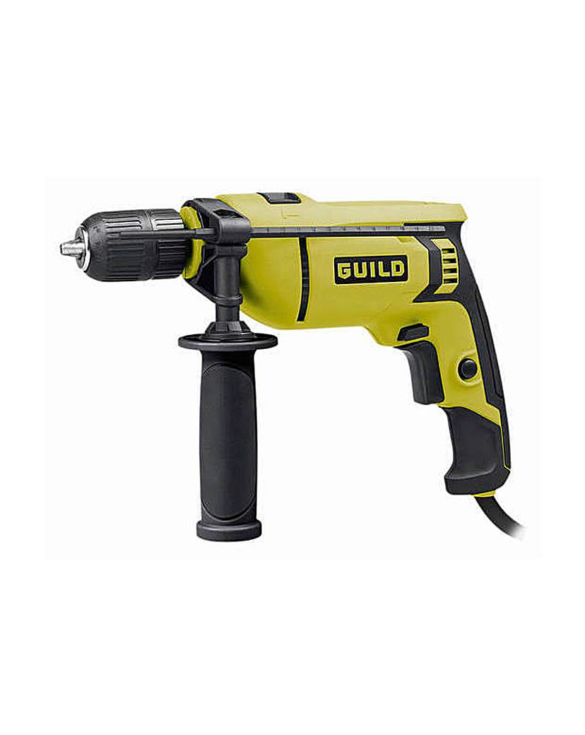 Image of 13mm Keyless Corded Hammer Drill - 750W