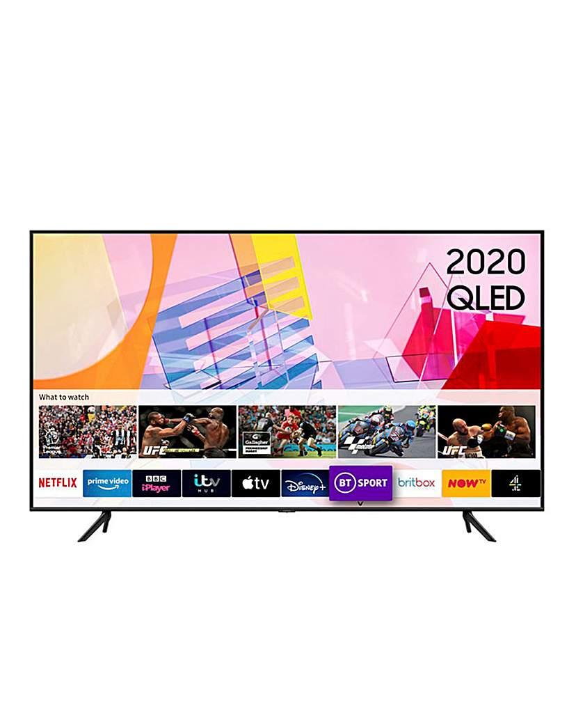 "Samsung QE65Q60TAUXXU 65 QLED 4K HDR TV"""