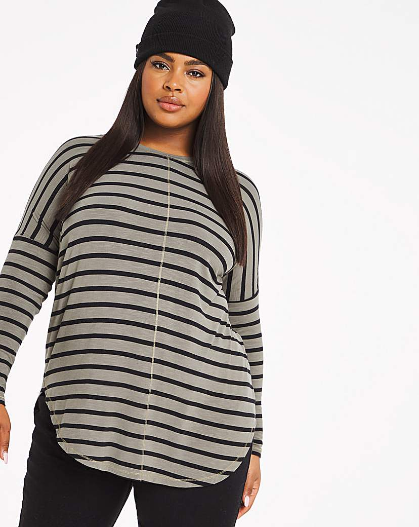 Capsule Oversized Stripe Tunic