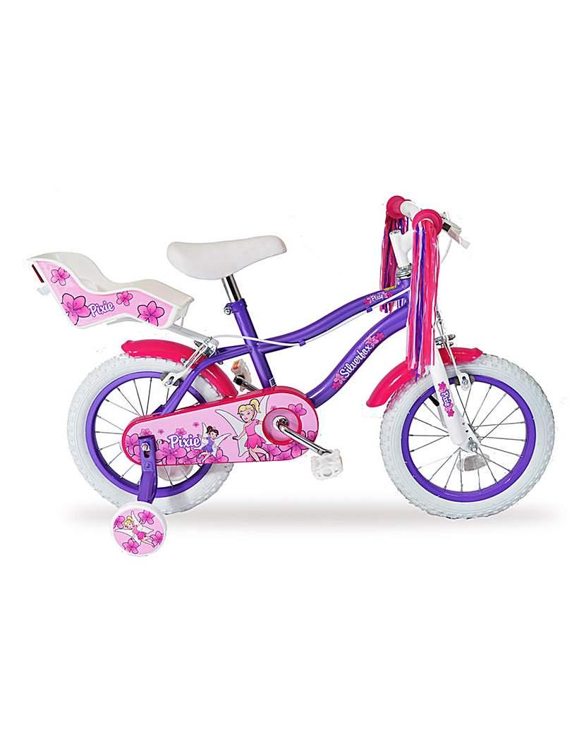 Silverfox Pixie Girls 14in Bike