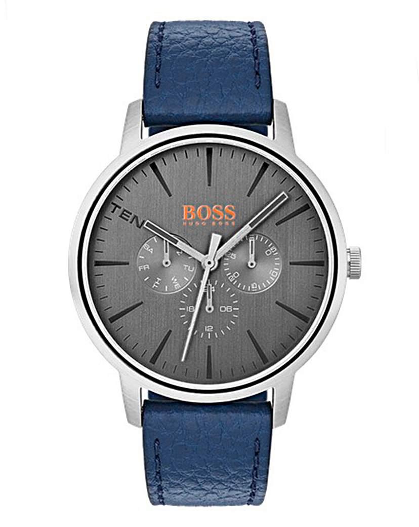 Boss Orange Gents Blue Strap Watch