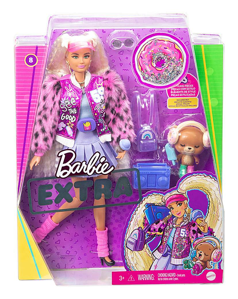 Barbie Xtra Doll Blonde Pigtails