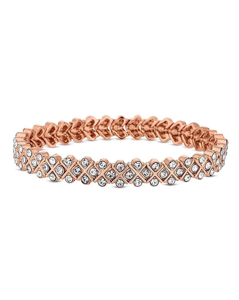 Jon Richard Rose Gold Stretch Bracelet