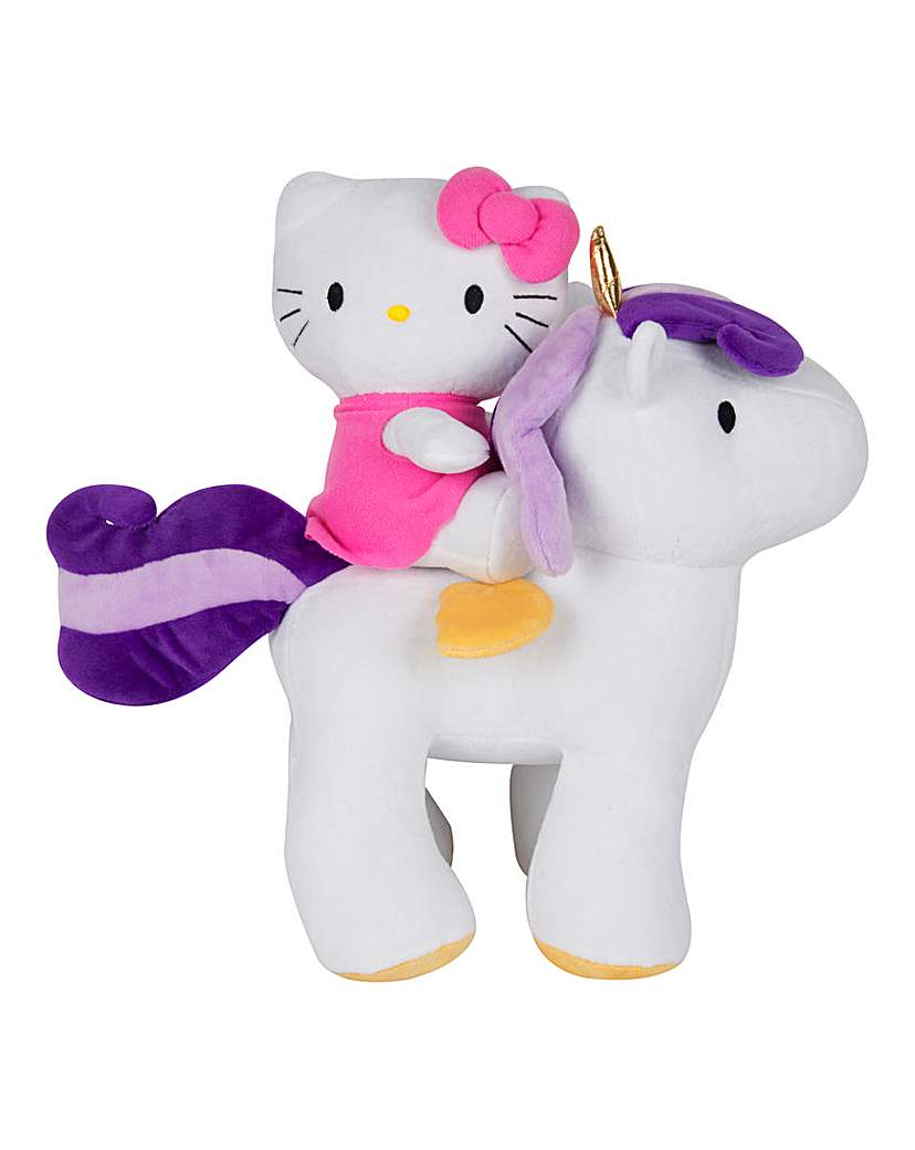Image of Hello Kitty Unicorn Plush