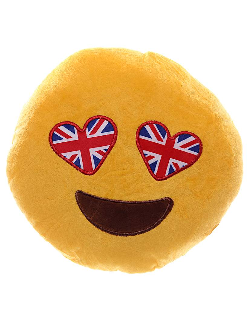 Image of Union Flag Eyes Emotive Cushion