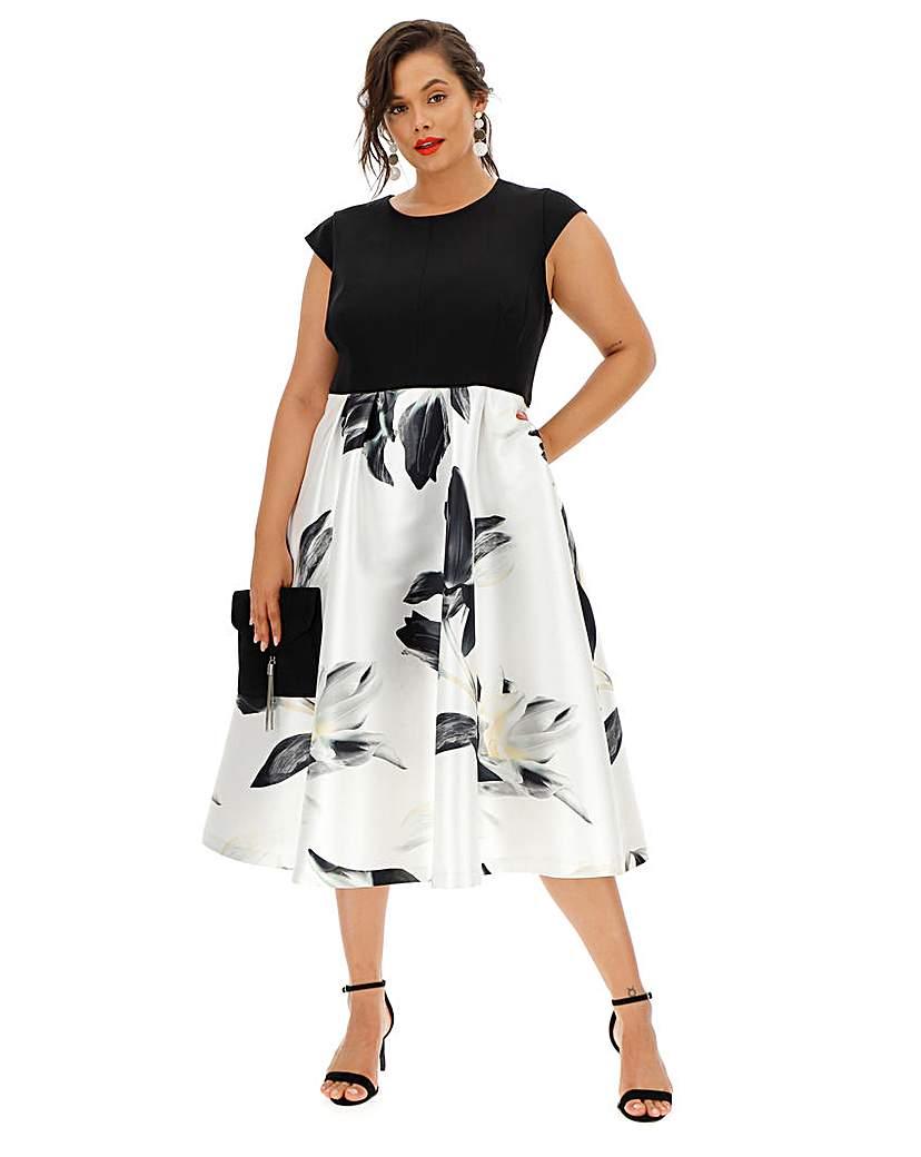 Coast Coast Ophelia Black Dress