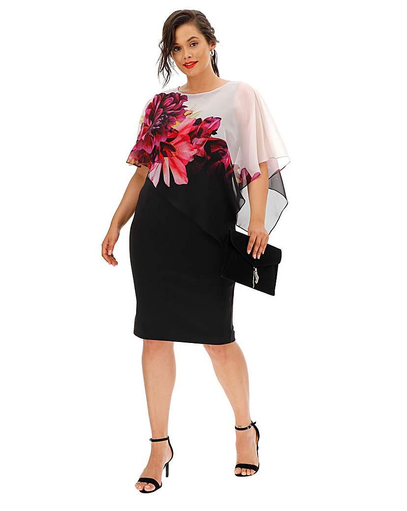 Coast Tina Overlay Dress