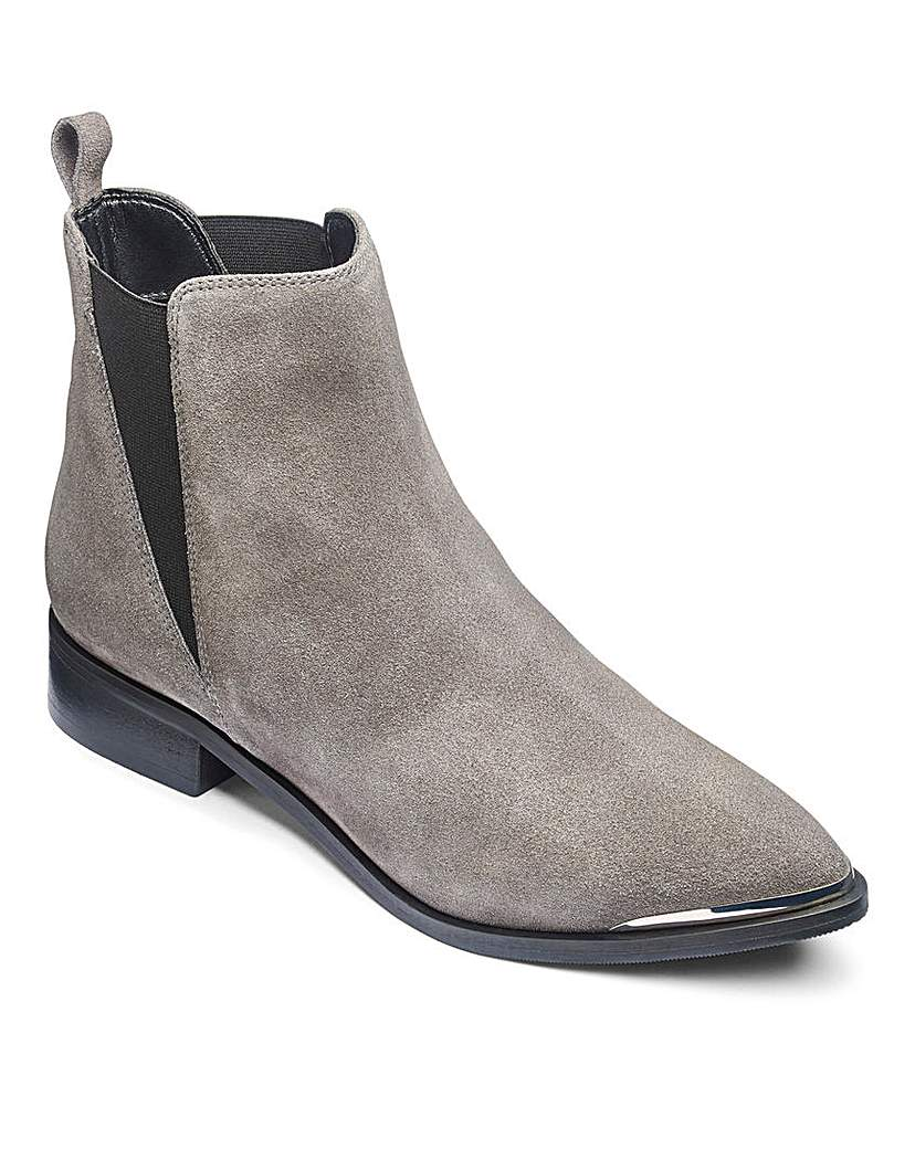 Simply Be Paige Leather Boots EEE Fit