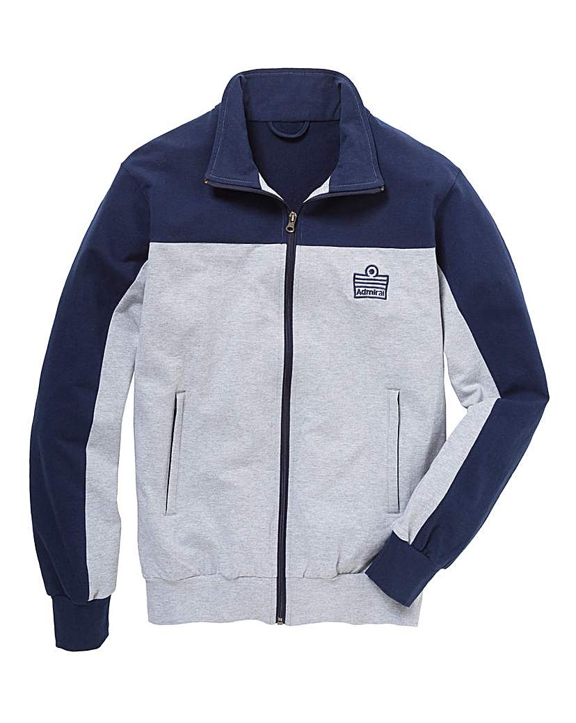 Admiral Style Full Zip Track Top Long
