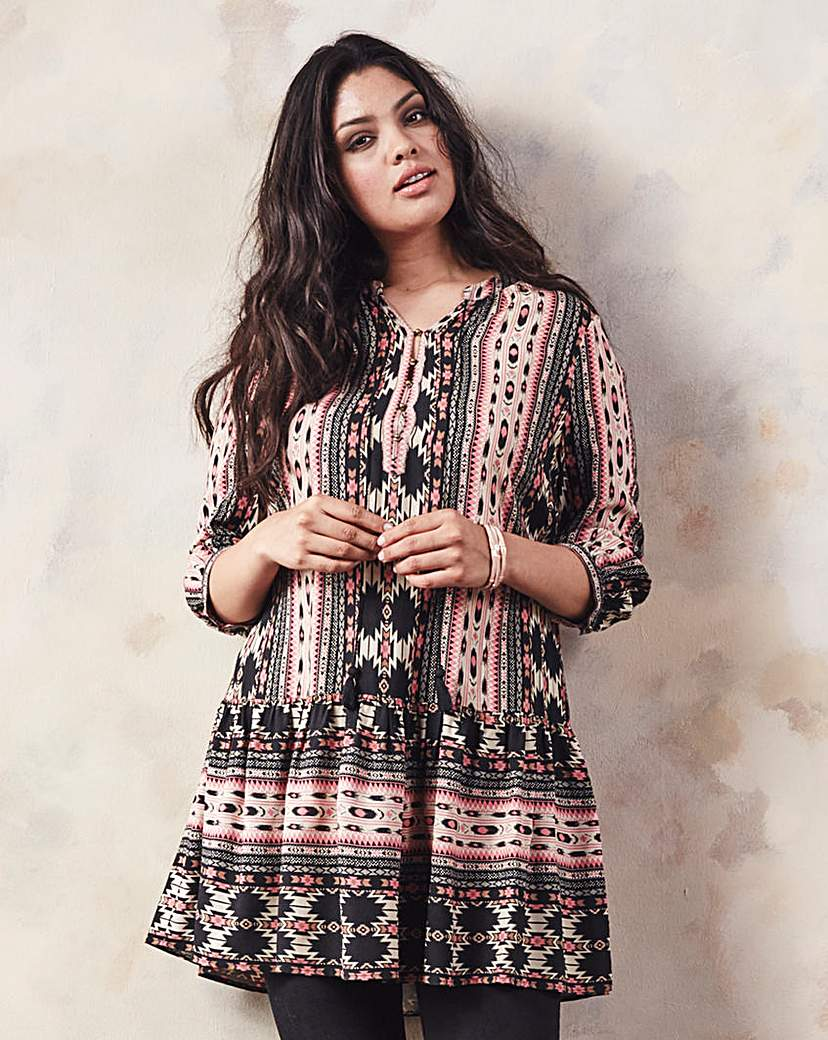 Simply Be Aztec Tunic