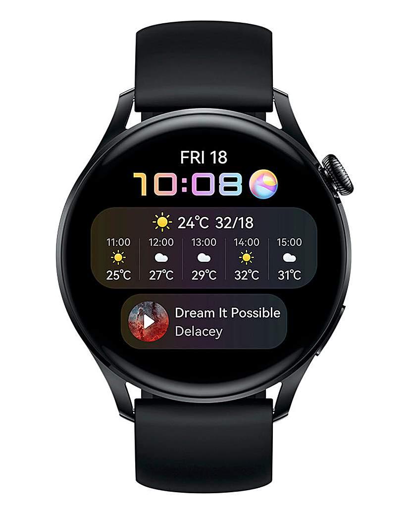 Huawei Watch 3 Active - Black