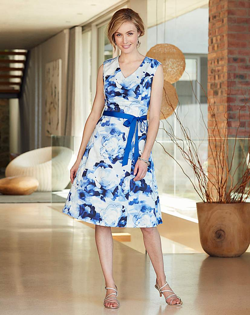 Nightingales Fit And Flare Dress