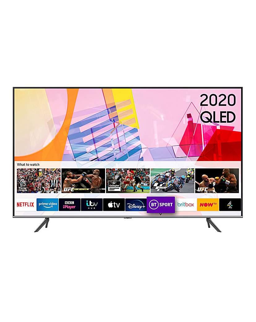 "Samsung QE65Q65TAUXXU 65 4K Smart TV"""
