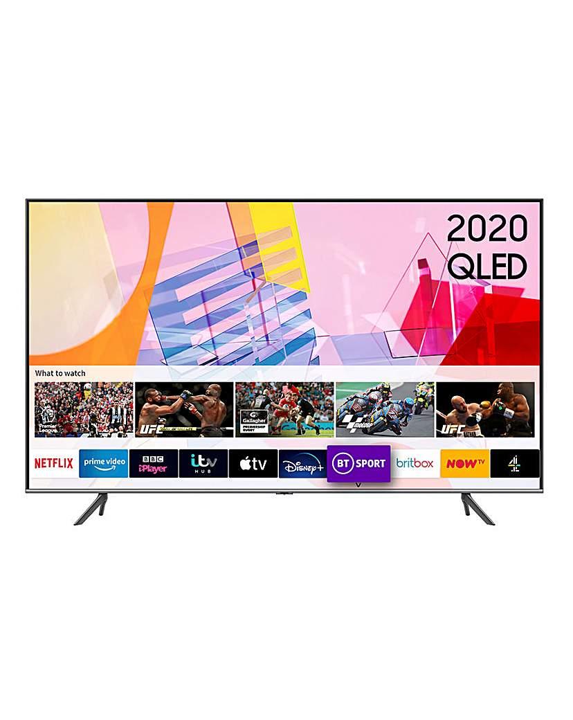 "samsung qe50q65tauxxu 50 4k smart tv"""