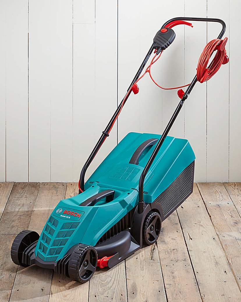 Image of Bosch 32R Electric Rotary Lawnmower