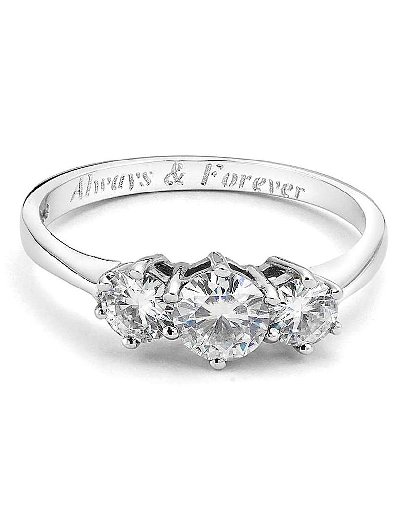 Compare retail prices of 1 Carat Personalised Moissanite Ring to get the best deal online