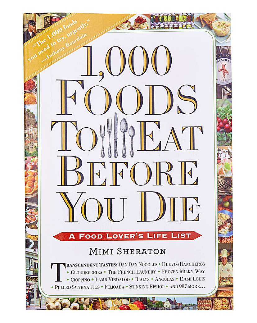 Compare prices for 1000 Foods to Eat Before You Die
