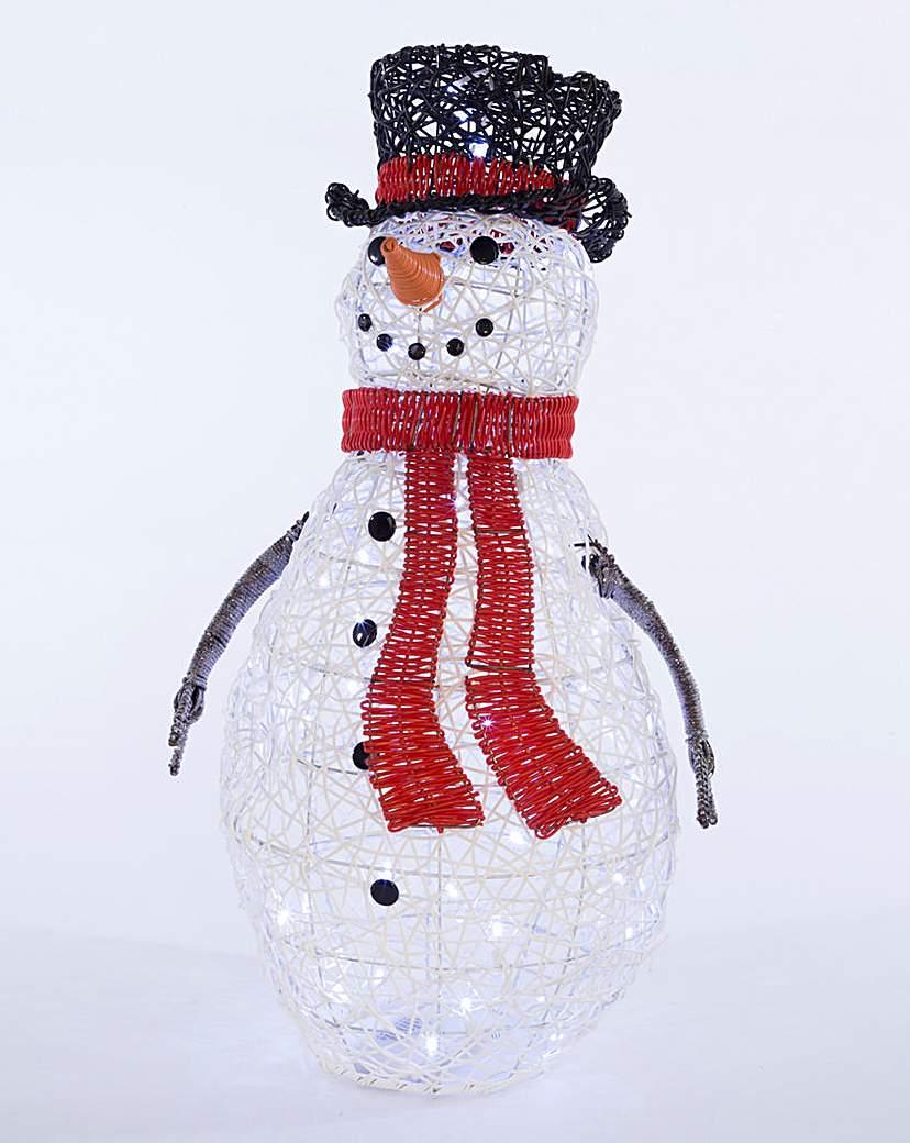 70cm White Snowman