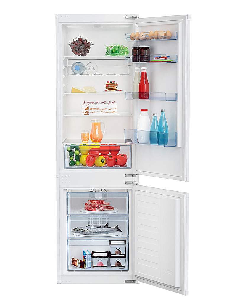 349 beko frost free fridge freezer combi compare. Black Bedroom Furniture Sets. Home Design Ideas
