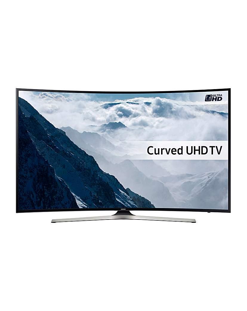 """Samsung UE65KU6100 65 4K Curved TV"""""""