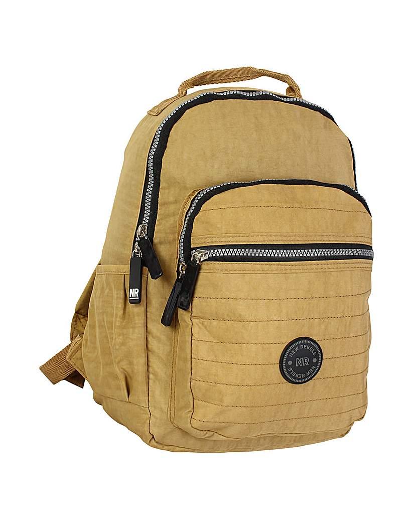 New Rebels Crinkle Nylon Backpack