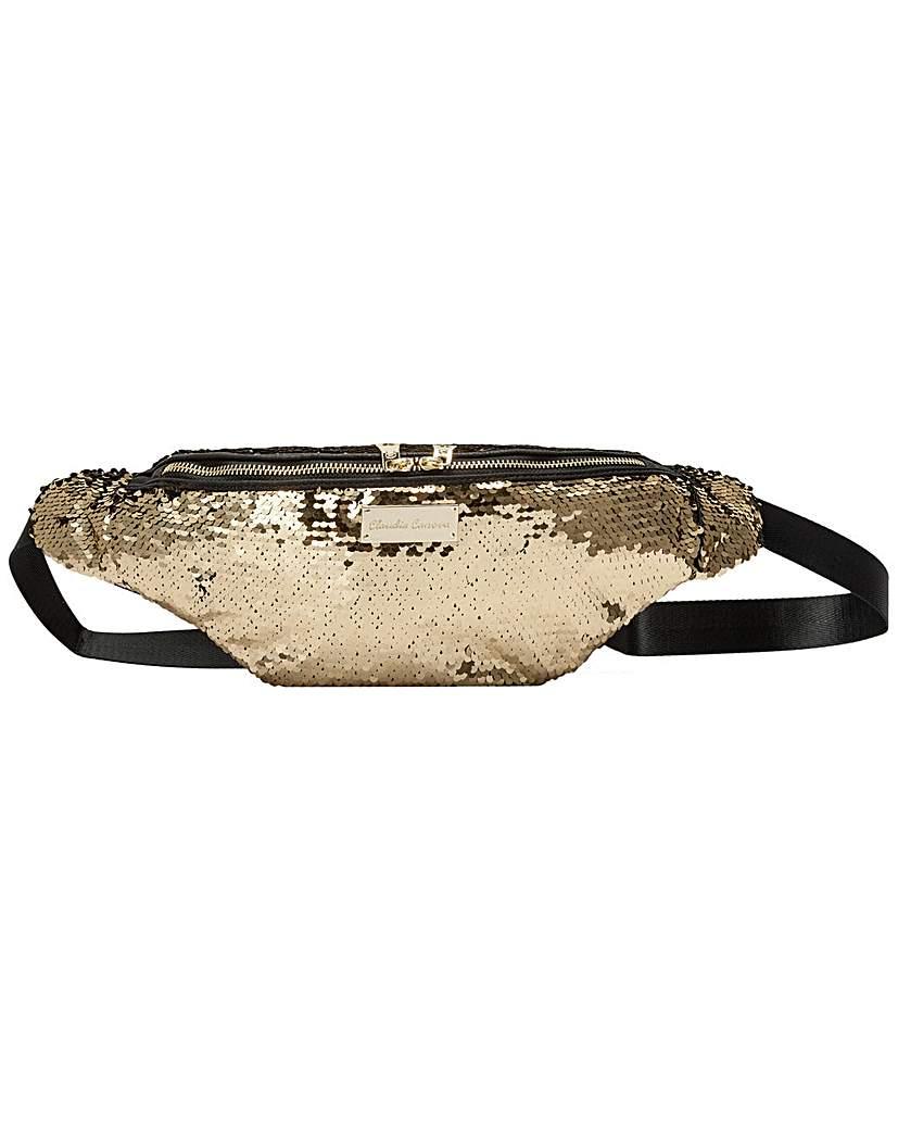 Claudia Canova Claudia Canova Rocklit Sequin Bum Bag