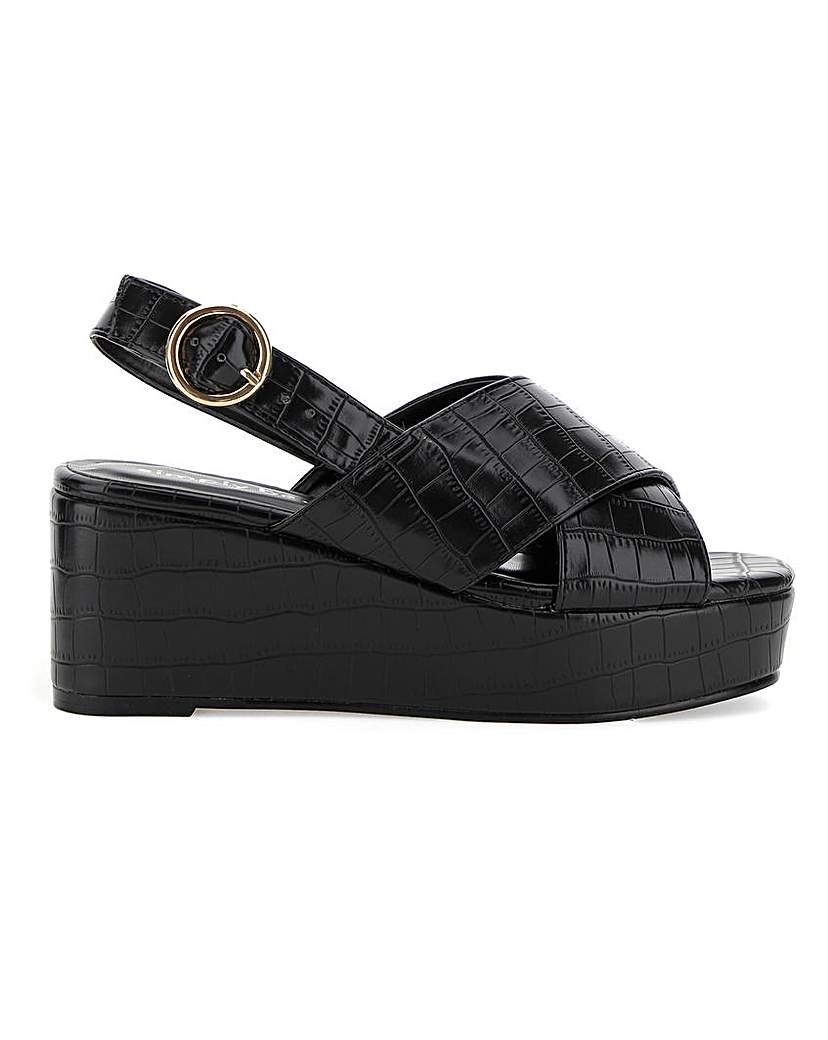 Simply Be Ripley Flatforms Extra Wide Fit