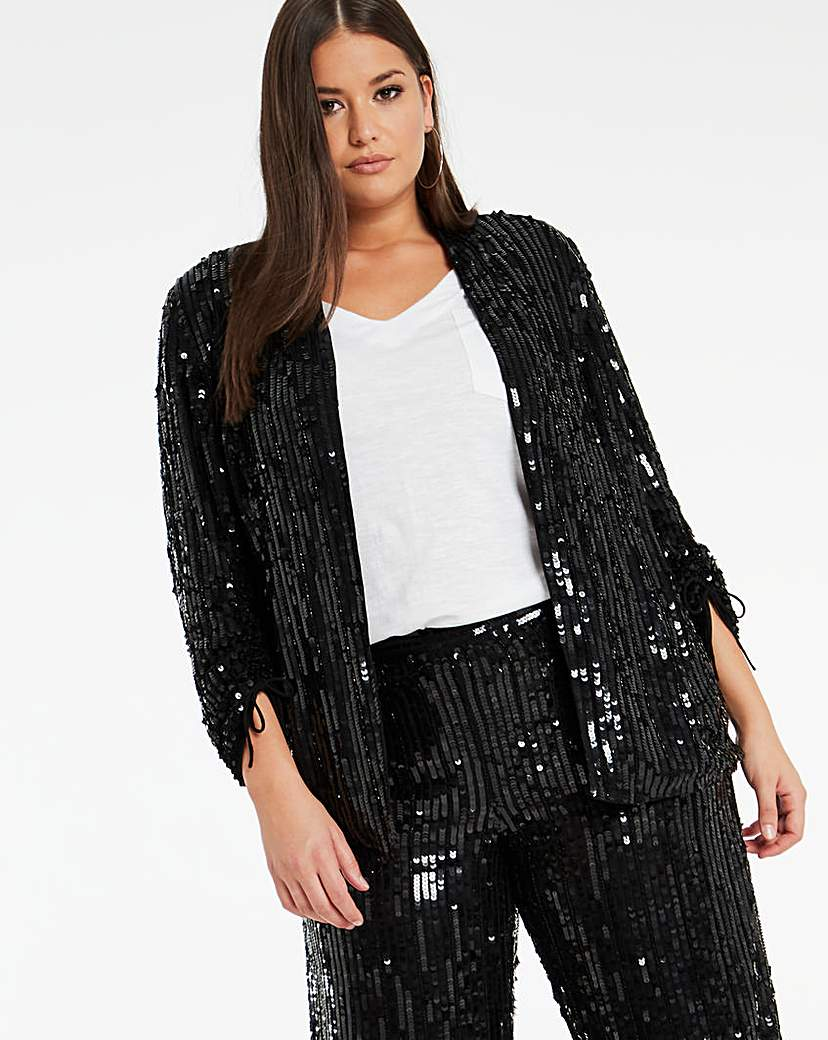 Joanna Hope Joanna Hope Sequin Jacket