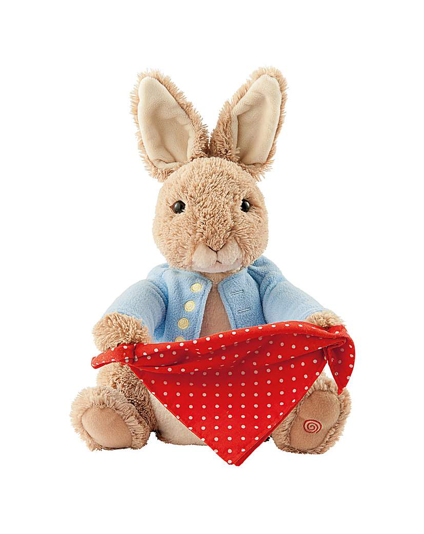 Gund Peter Rabbit Peek A Boo
