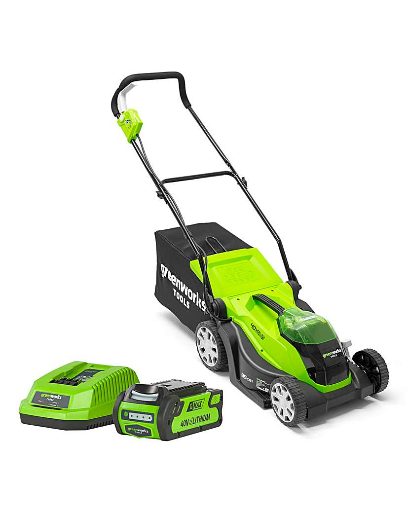 Image of GREENWORKS 40v Cordless Lawnmower