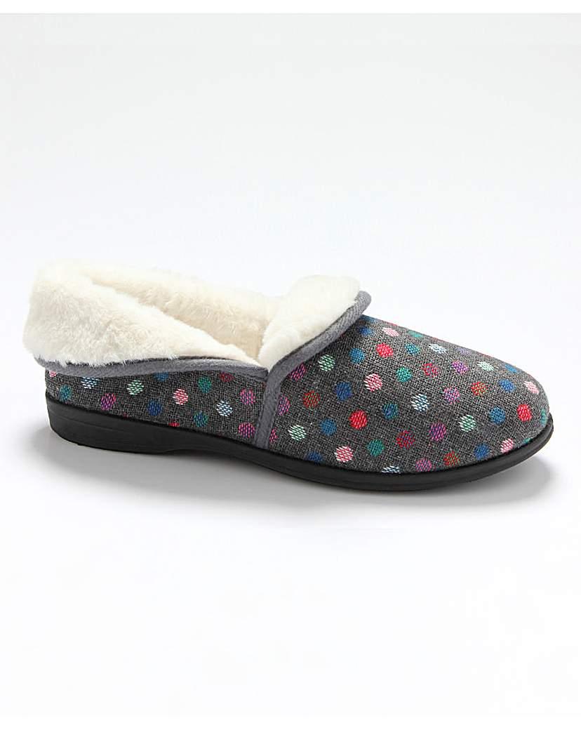 R&R Harper Fold Down Slippers