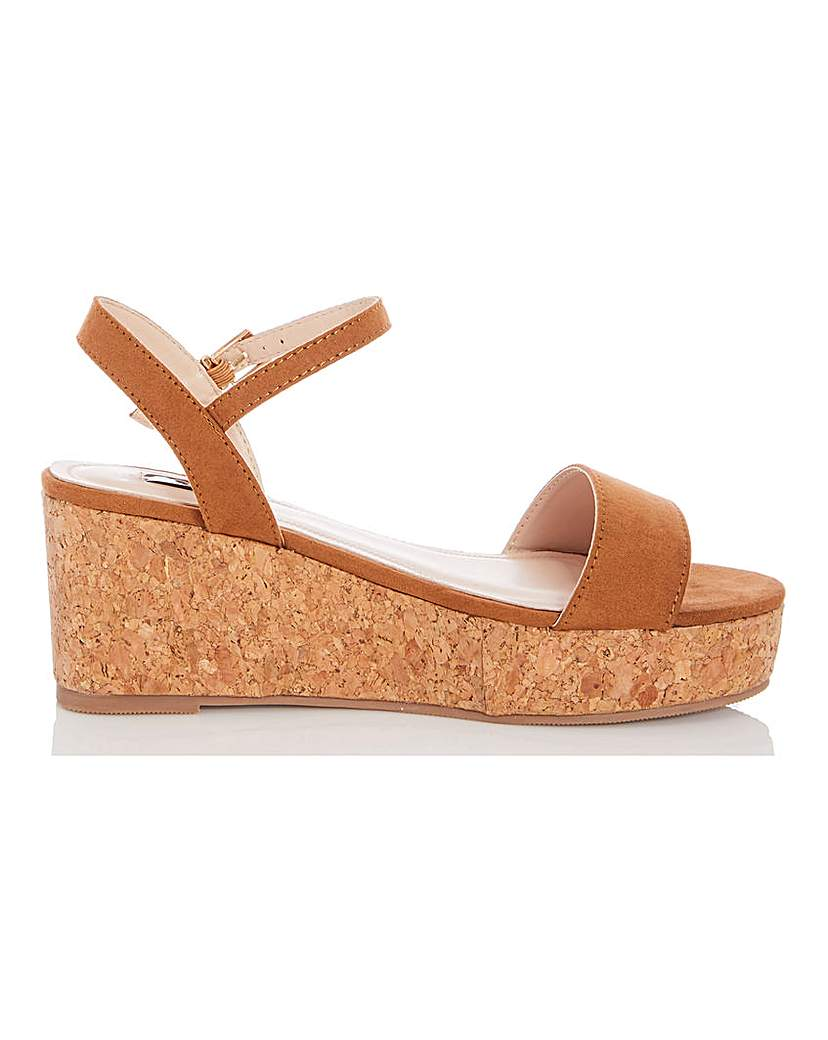 Quiz Quiz Espadrille Wedge Sandals
