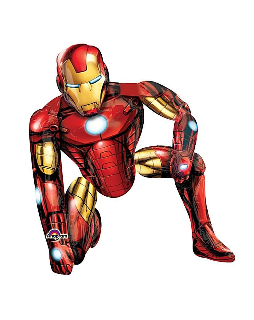 Airwalker Balloon Iron Man  HandPpump