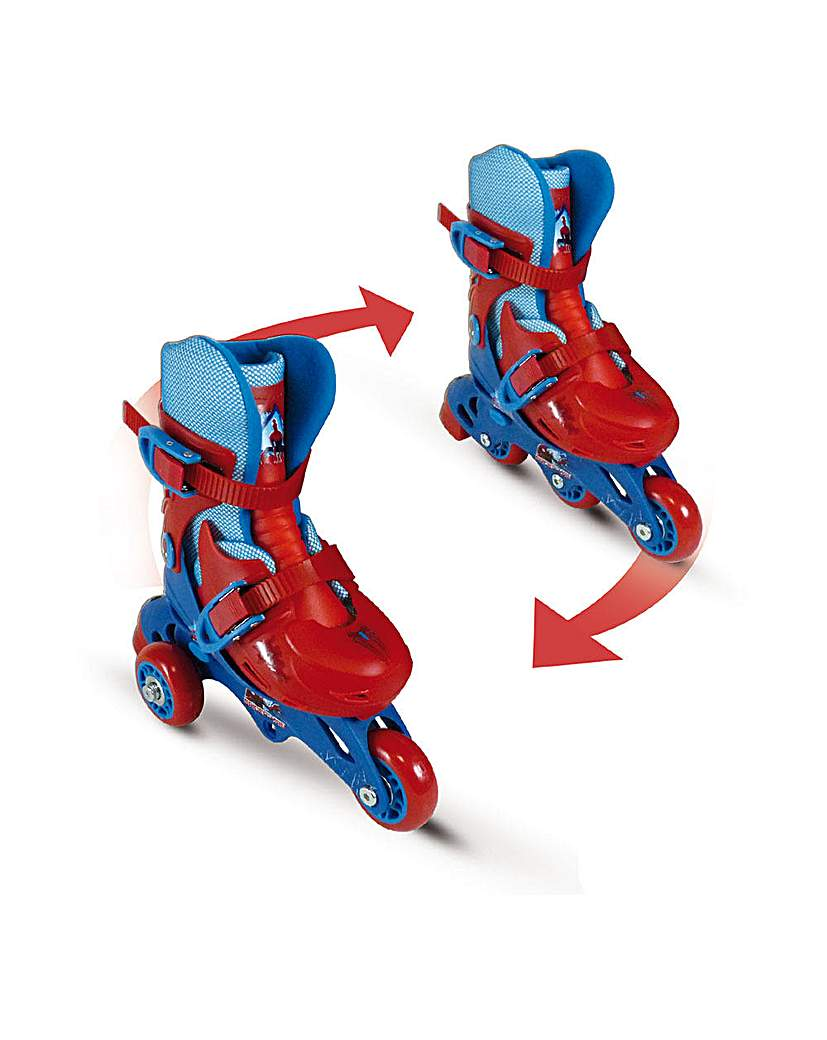 Image of Spider-Man 2-in-1 Skates, 27-30