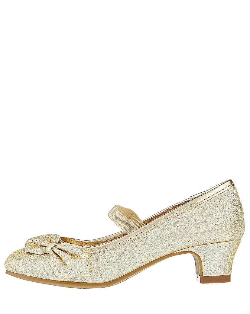 Accessorize Gold Bow Flamenco