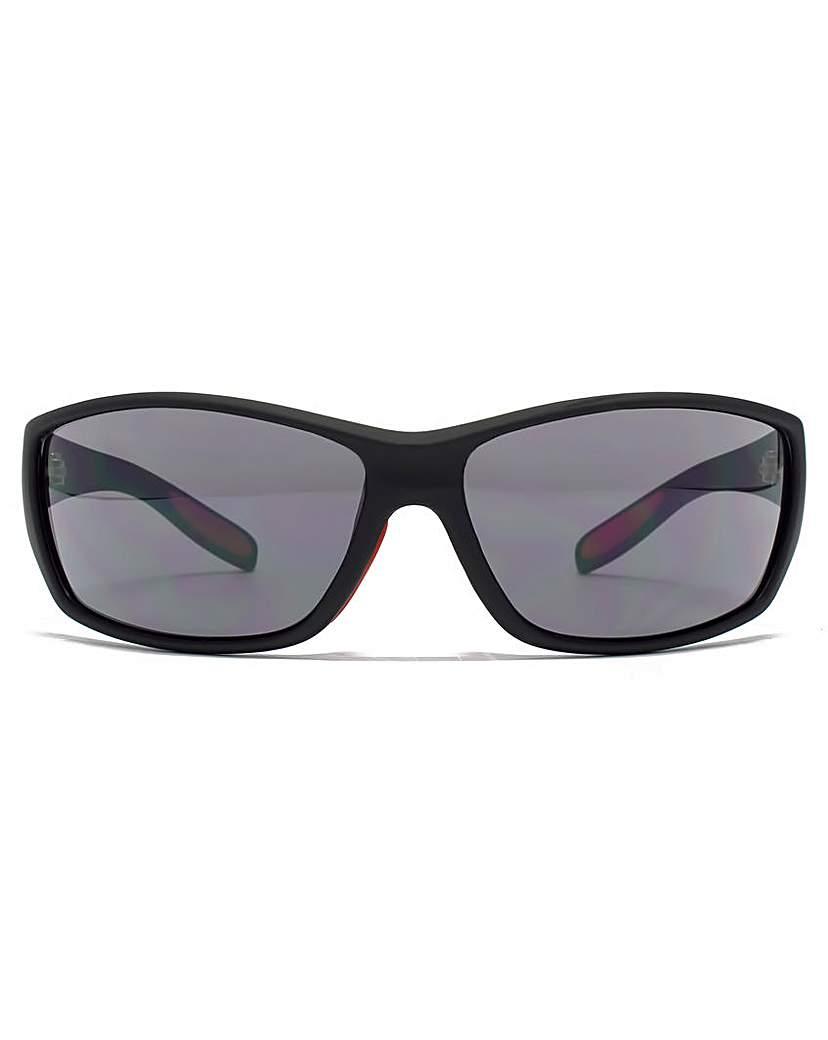 Image of FCUK Rectangle Wrap Sunglasses