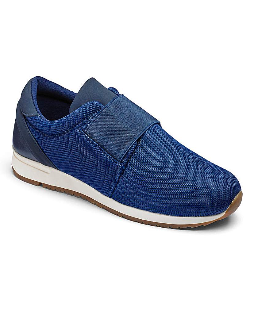 Simply Be Be Active Slip On Trainers E Fit