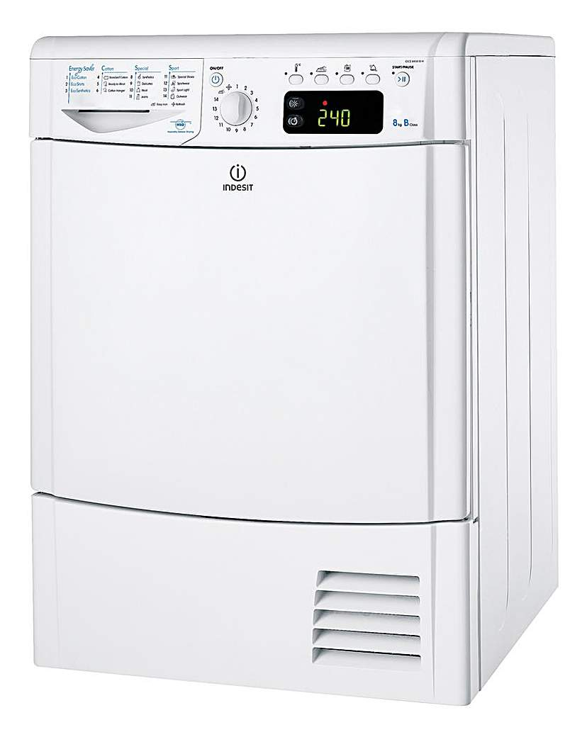 Indesit 8kg Cnds Tumble Dryer + INST