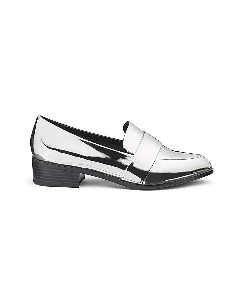 Simply Be Olivia Pointed Loafer E Fit