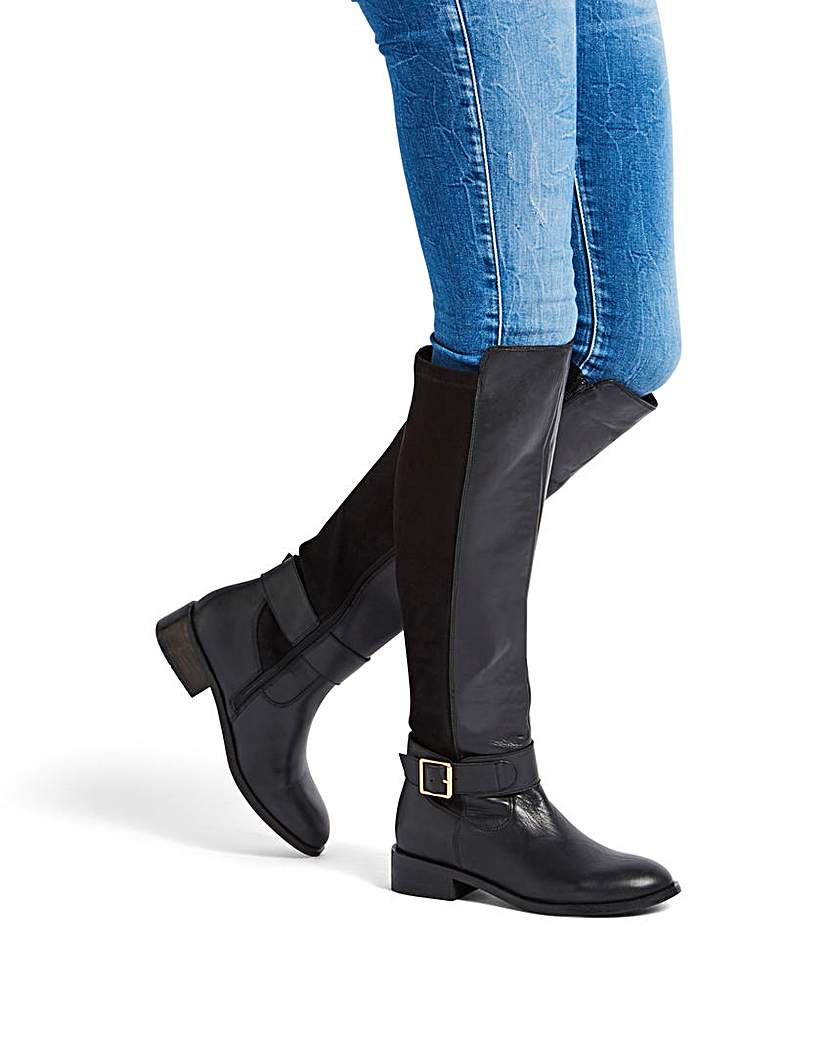 Simply Be Chloe Boot EEE Super Curvy