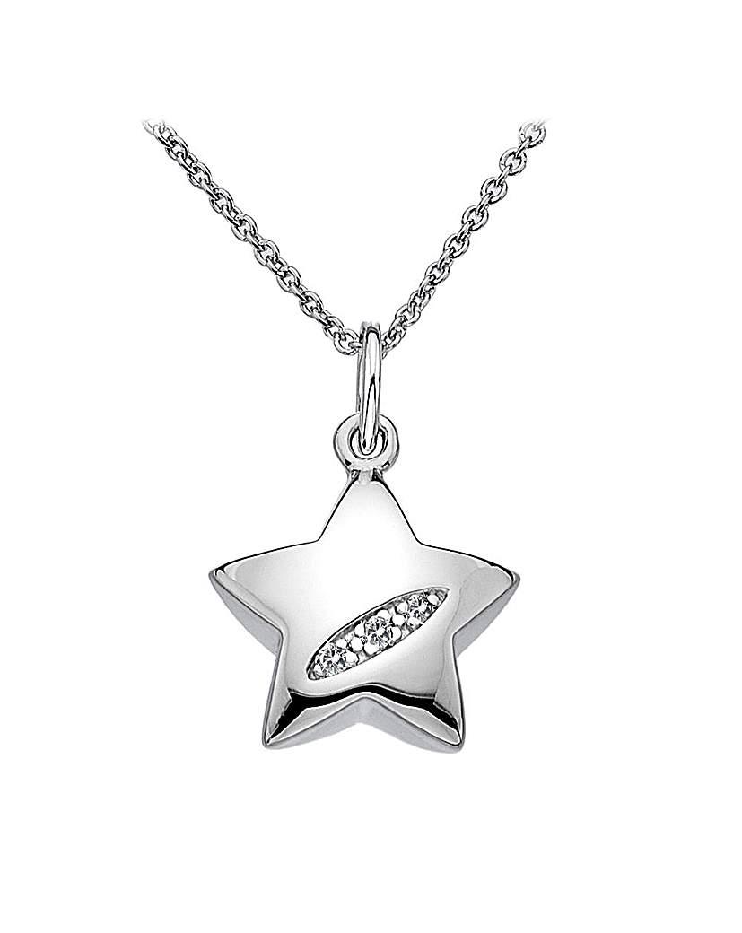 Hot Diamonds Star Pendant