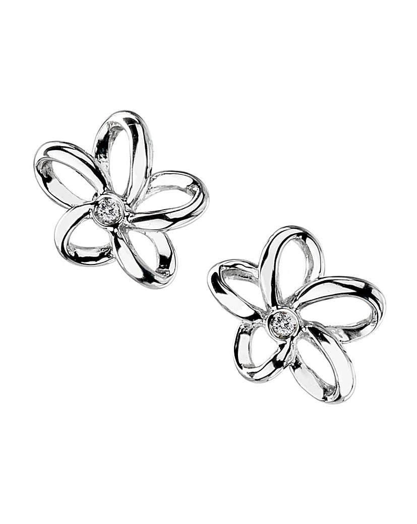 Image of            Hot Diamonds Paradise Earrings