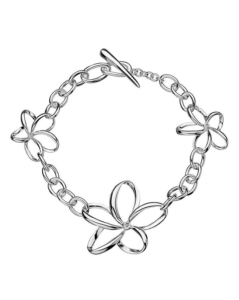 Hot Diamonds Open Petal Bracelet