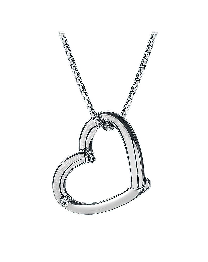 Image of Hot Diamonds Just Add Love Pendant