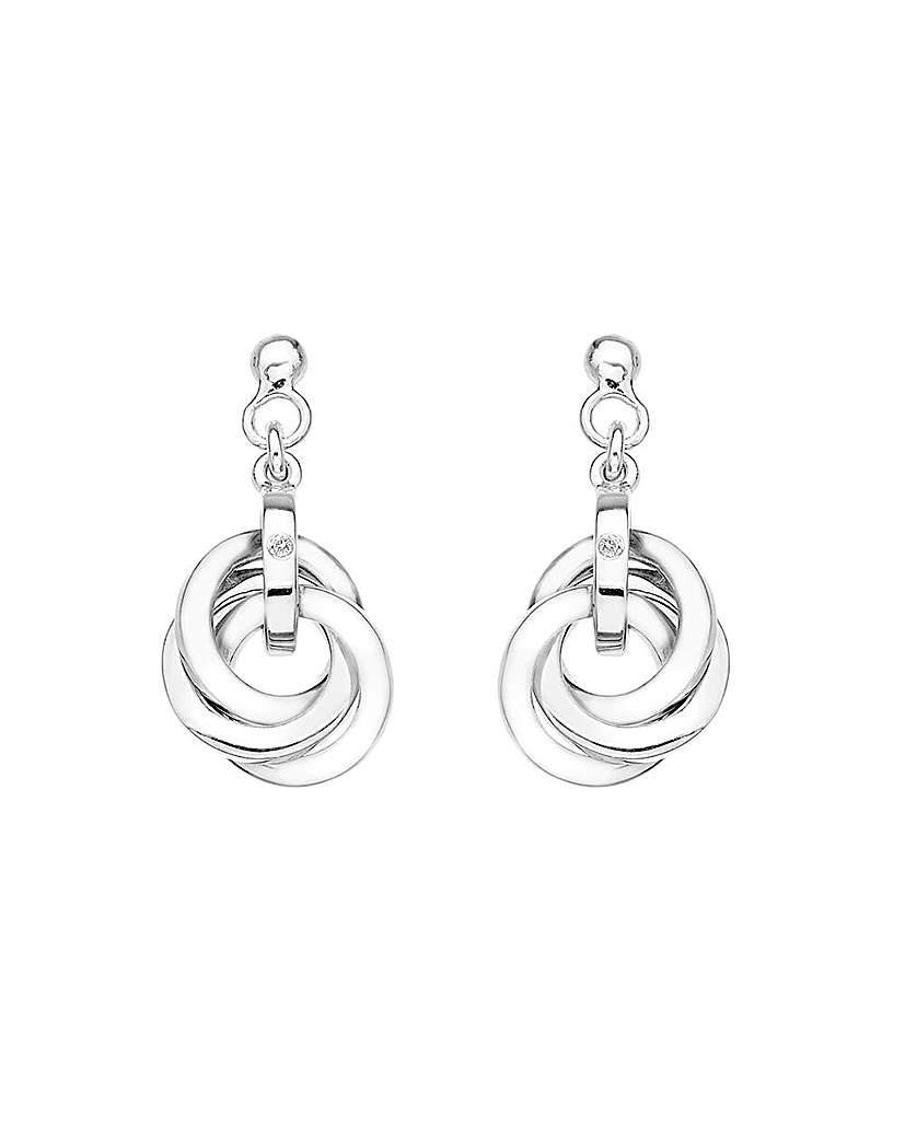 Image of Hot Diamonds Trio Earrings