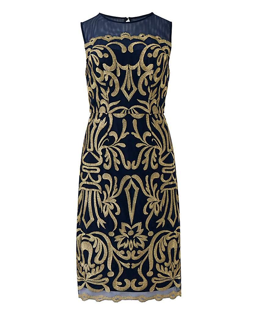 Joanna Hope Joanna Hope Embroidered Dress
