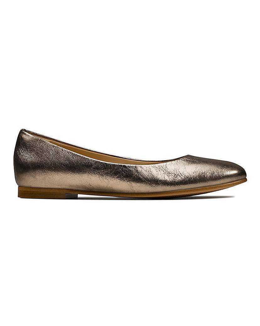 Clarks Clarks Ballerina Shoes D Fit