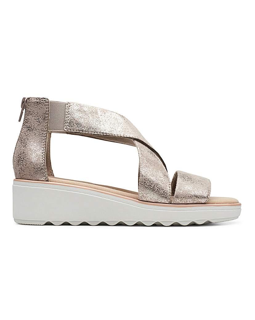Clarks Clarks Sandals Standard D Fit