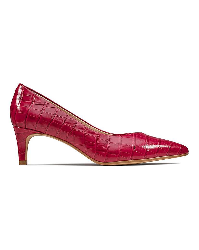 Clarks Clarks Court Shoes D Fit