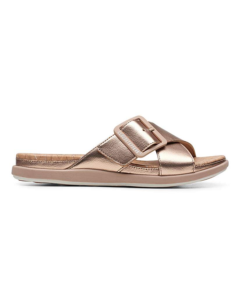Clarks Clarks Step June Shell Sandals D Fit